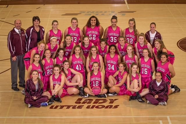 The State College Girls' Basketball team will host an annual Pink Out game benefitting breast cancer this Friday, January 22nd. The Lady Little Lions will take on Central Dauphin; JV at 6:00pm, Varsity at 7:00pm.