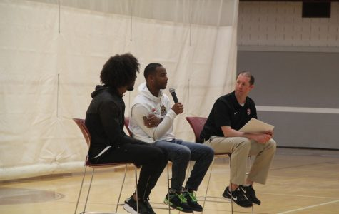 Jordan and Levi Norwood Give a Talk at State High