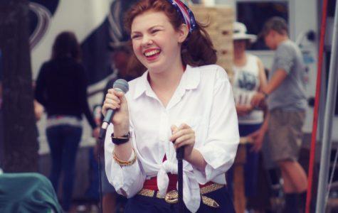 Singing Her Way Through High School