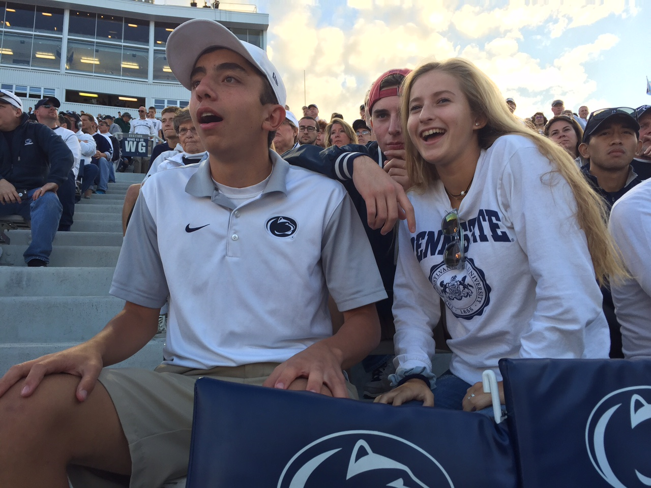 "On Saturday, September 9th, Penn State faced off with Pitt at Beaver Stadium.""Penn State football has helped me be a part of a college environment from a young age. While other kids can't wait until college, I feel like I'm already in it,"" Ryan Battista, junior, said. The Nittany Lions routed the Panthers 33-14, to get revenge from the 2016 loss in Pittsburgh."