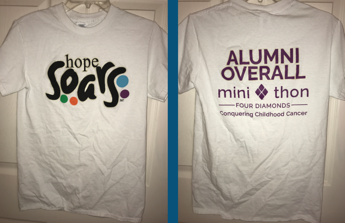The Mini-THON t-shirt from last years 2016 event.