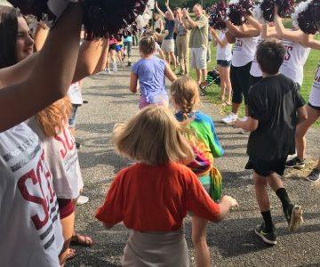 Corl Street Brings the Heat at Fun Run