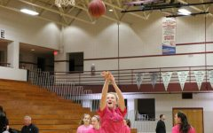 No Doubt About the Pink Out: State High Girls' B-Ball Defeats Carlisle