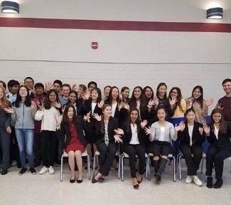 Sweet Wins at Novice Forensics Tournament