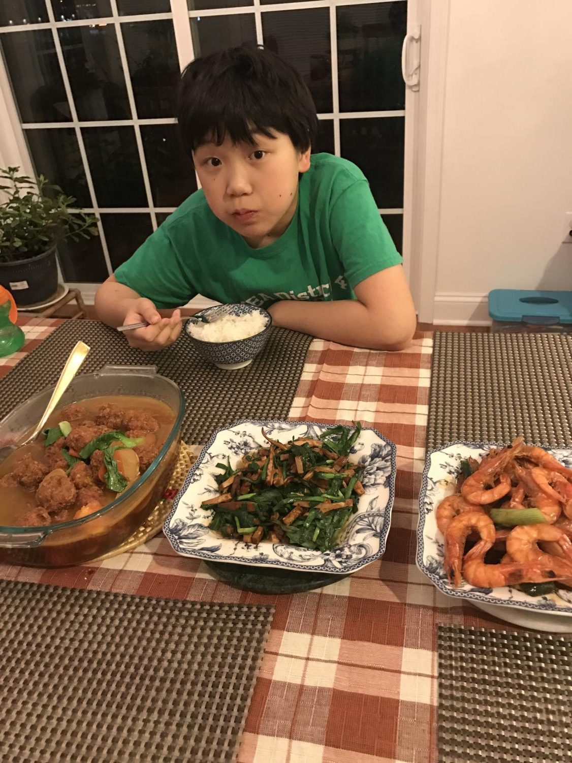 "Zander Zheng, freshman, has Peking duck for Thanksgiving. Peking duck is a traditional Thanksgiving meal of the Zheng family. ""There is nothing better than Peking Duck for Thanksgiving. Turkey may be good, but this is the best of the best,"" Zheng said."