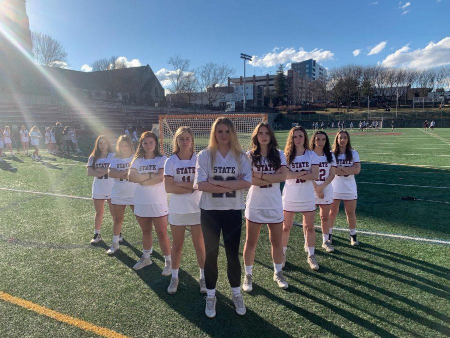 State High seniors look forward to a strong season. Ella Kolln, senior, said,