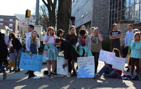 State High Students Rally in Support of Action Against Climate Change