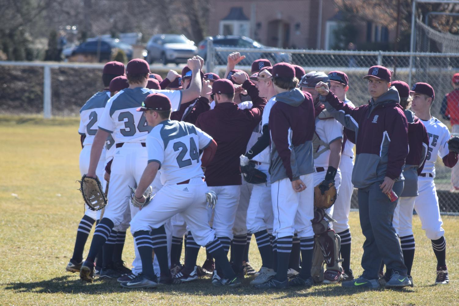 "State High Varsity Baseball lost to Red Land 8-2 in the season opener. ""We fought hard the whole game against a strong team, and I'm happy with how we competed,""  Jake Cooper, sophomore, said. The team overall thought they started off the season well."