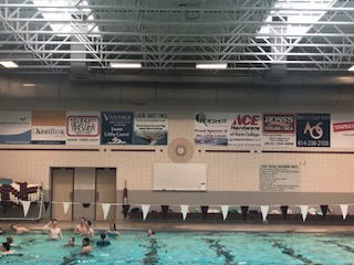 "Advertisements are displayed throughout State College Area High School athletic facilities, including the Natatorium. On March 11, the School Board passed a policy restricting the location of advertisements and the duration for which they can be displayed. ""There is also advertising at memorial field, on the scoreboard, actually I think at the scoreboard on the south track as well. And we are hoping to expand that to an extent, however, we don't want to plaster advertisements everywhere, even within those venues we don't want to make it to obvious,"" SCASD Business Administrator Randy Brown said."
