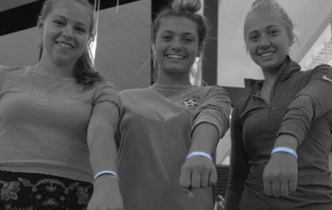 Girls' Soccer Brings A Pop of Color to Football Game