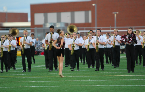 The State High Marching Band Starts the Year off on a High Note