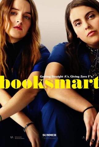 "The ""Booksmart"" poster as seen on theatrical posters and on the DVD cover."