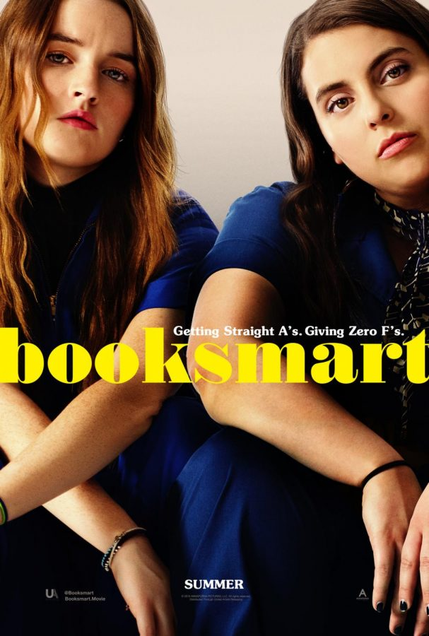 The+%22Booksmart%22+poster+as+seen+on+theatrical+posters+and+on+the+DVD+cover.+