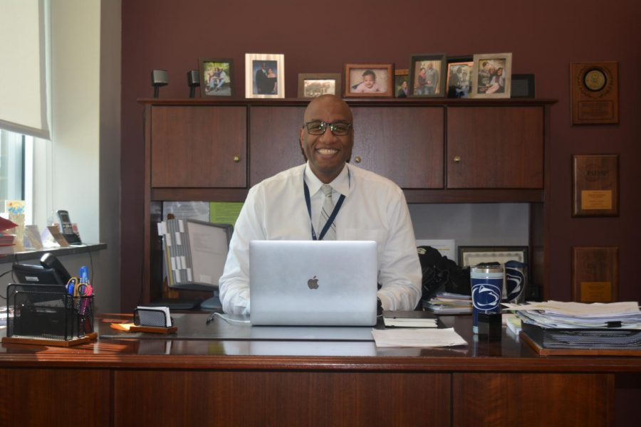 "Principal Johnson is the current principal of State College Area High School. ""Being a principal means the buck stops with you,""  Principal Johnson said. ""You also carry a lot of weight on your shoulders, you have a lot of responsibilities and it's a great undertaker."""