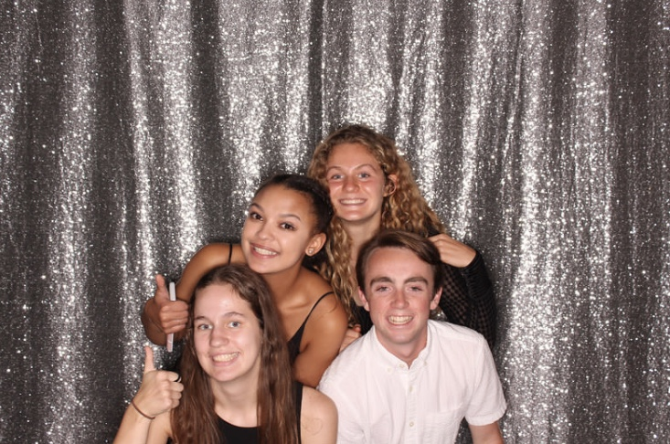 The Senior Senate poses during the Homecoming dance this fall. I love my fellow officers. Without all of them, I wouldnt be successful in my position, Kaylee Richards, treasurer, said.