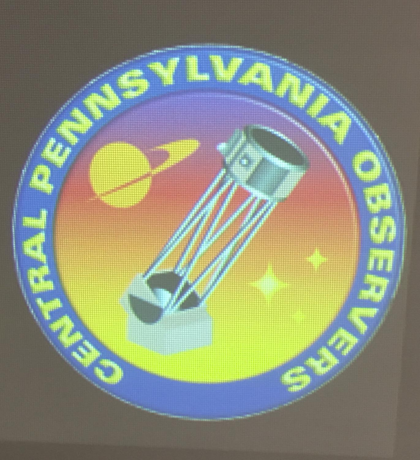 "The logo of State College's local astronomy club, the Central Pennsylvania Observers (CPO). ""It's one of the nicest groups of people I've met in my whole life. There are no bad people,"" Joseph Dougherty said."
