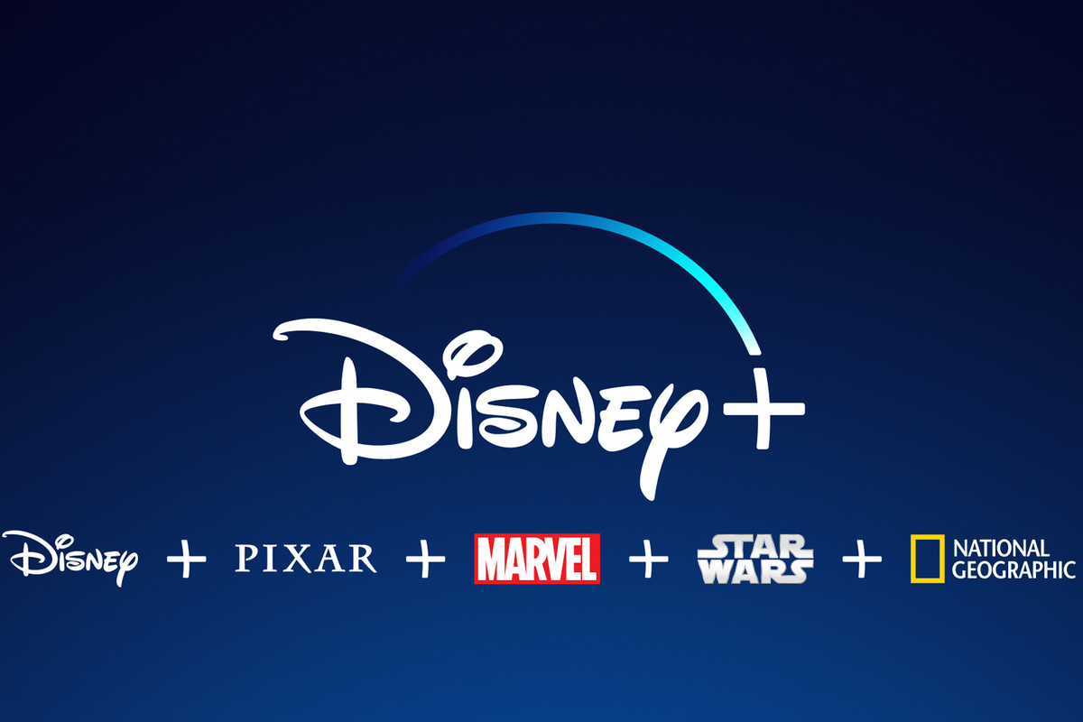 """The official Disney + logo. Disney released their streaming service """"Disney +"""" on November 19, 2019. The logo is used on the app and website."""