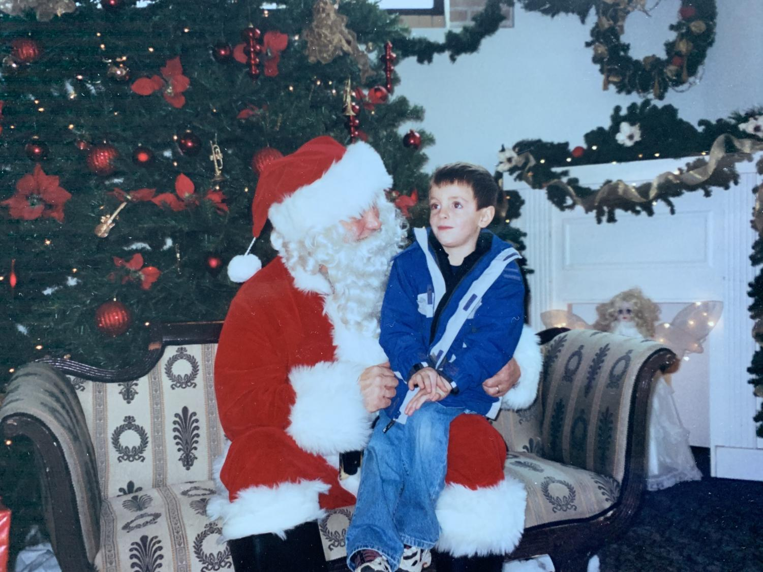 Every year thousands of people put on a red suit and go to work as Santa Claus in their town. These Santas are visited by hundreds if not thousands of children per day. Although jolly at first glance, mall Santas are slowly destroying the joy and magic of the holiday season.