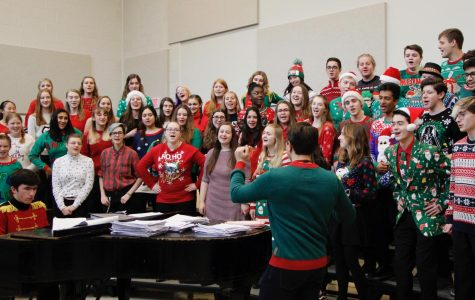 State High Music Spreads Holiday Cheer in Winter Concert