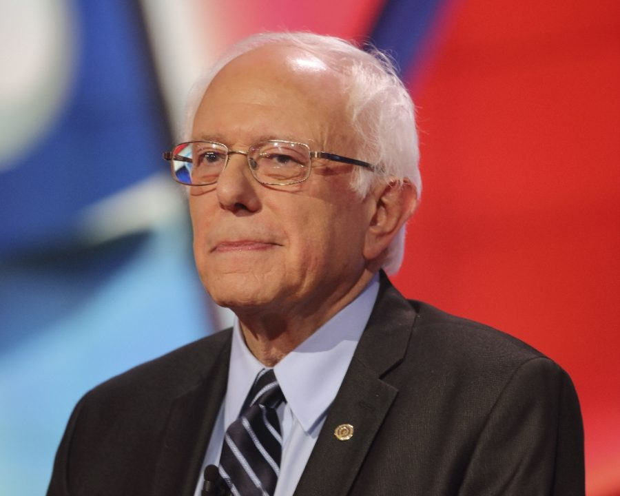 Vermont+Senator+Bernie+Sanders%2C+one+of+the+frontrunners+in+the+Democratic+Primary%2C+suffered+a+narrow+defeat+in+the+Iowa+Caucus+but+managed+to+pull+out+a+win+against+Pete+Buttegieg+in+New+Hampshire.+%28Image+courtesy+of+Imagequest%29