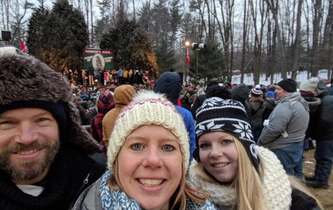 State High math teacher Mrs. Neal attends the annual Groundhog Day celebration in Punxsutawney, Pennsylvania. Growing up in Punxsutawney, Neal was at the forefront of a lot of the culture surrounding Groundhog Day.