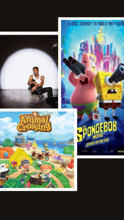 "Many have found solace in socially distant entertainment, be it music, games, or movies. I'm just saying, Giveon, Animal Crossing, and The Spongebob Movie: Sponge on the Run sound pretty good right now. Definitely better than COVID-infested Halloween ""parties"" thrown by 15 year olds."