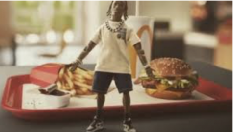 Travis Scott's signature meal includes a quarter pounder with bacon, medium fry and sprite for $6.
