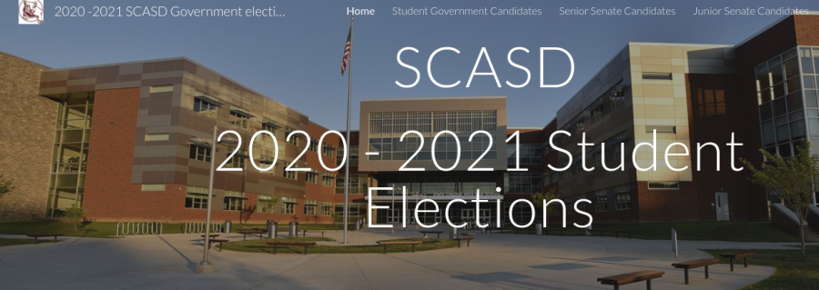 On Wednesday, Oct.21, and Thursday, Oct.22, students voted in  the 2020-2021 student elections.