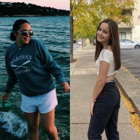 The founders of the club: Shwartzer(left) and Fragin(right). Both girls weren't strangers to collaborating, as they had competed as DECA partners before, and were more than ready to take on forming the club together.