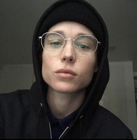 "Elliot Page""s first picture posted to his Instagram after coming out as transgender."