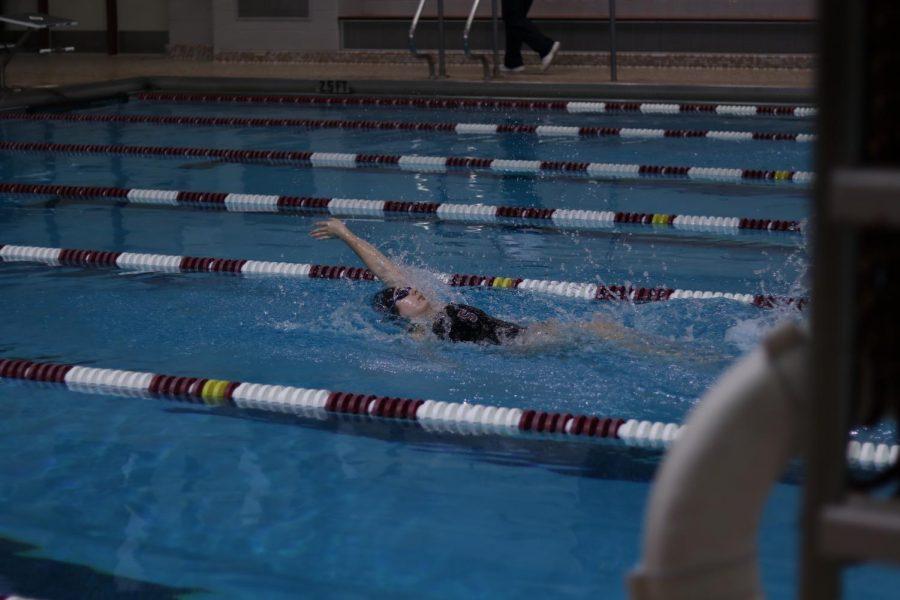 Lily Backstroke