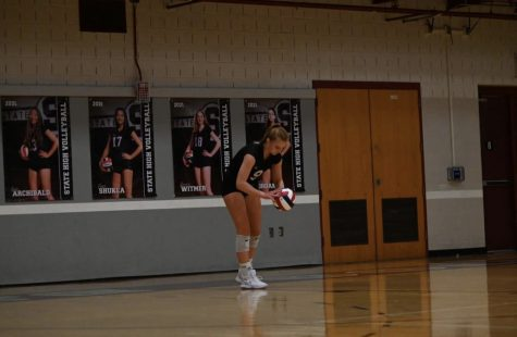 Similarly to many other students Kate Lallys sport, volleyball, is starting up again and so is her school workload.