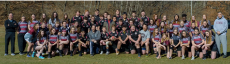 The State High Rugby team poses for photo. Rugby is one of the many groups at State High that students can join to enrich themselves.